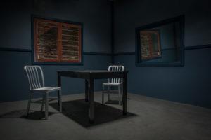 interrogation room set in los angeles