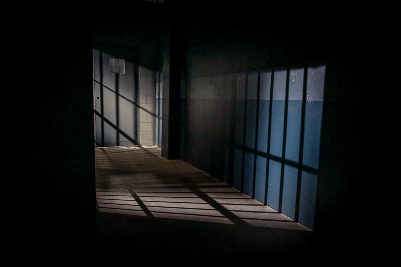 jail cell film studio