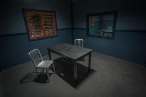 interrogation room standing set in los angeles